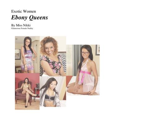 Nude Female Photo eBook Exotic Women- Ebony Queens